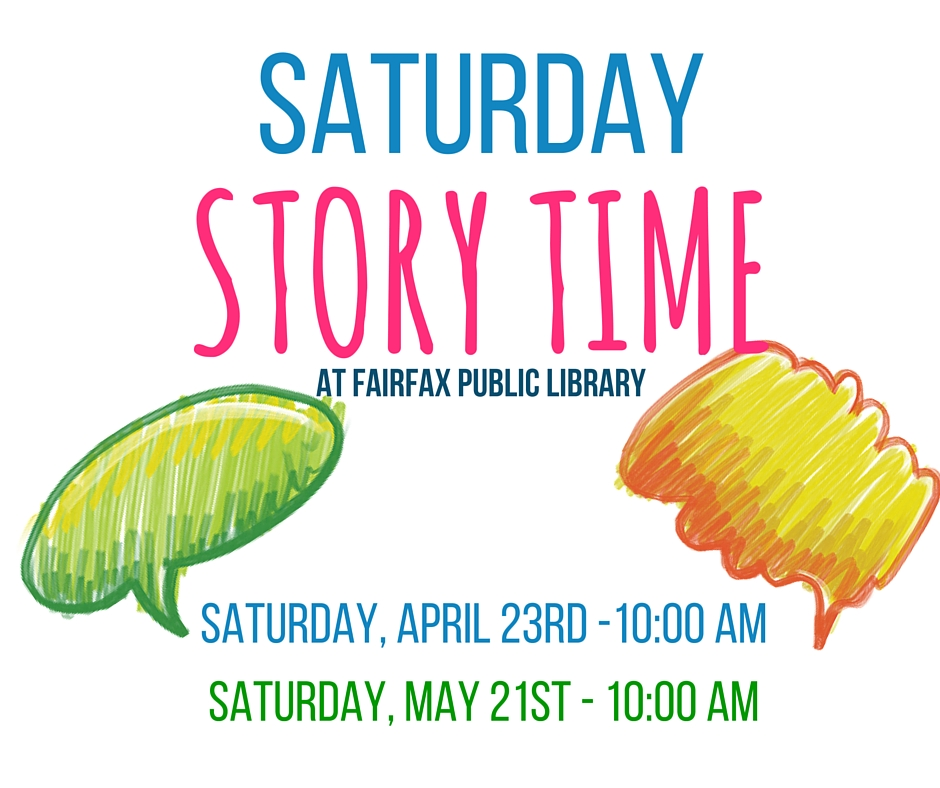 Saturday Story Time